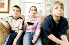 How does TV change kids' moods?