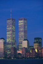 What grade of steel was used in the World Trade Center?