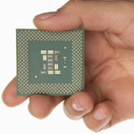 Your processor chip builds up heat as it changes states, limiting speed. See more computer hardware pictures.