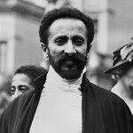 Emperor Haile Selassie, I in Addis Ababa, Ethiopia in an undated photo.