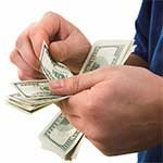 Bringing home the bacon. So where will you put all that cash? Check out these banking pictures.