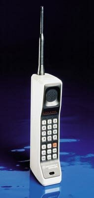 Old school: DynaTAC cell phone, 1983