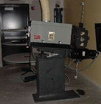 A projector is the key piece of technology in showing movies in theaters around the world.