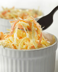 Coleslaw doesn't have to include mayonnaise.