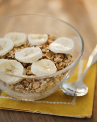 Cereal and fruit: a winning combination!