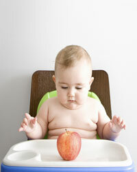 Many kids find applesauce more palatable than apples.