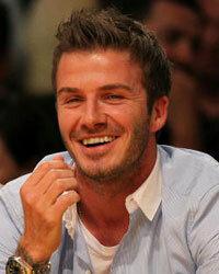 I, David Beckham, take thee...