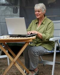 The beauty of writing is that it can be done anywhere, anytime.