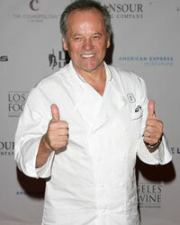 Wolfgang Puck's dishes always deserve two thumbs up!