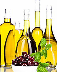 How about sampling an assortment of imported olive oils?