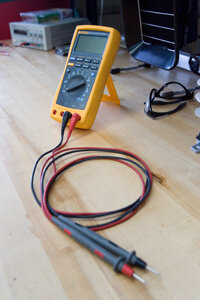 """This Fluke multimeter is used by the cast of Discovery's new show """"Prototype This!"""""""