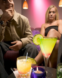 Drinking too much on a date may lead to embarrassing situations.