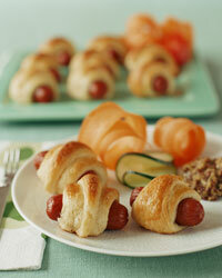 Pigs in a blanket have been working the party scene since the 1970s.