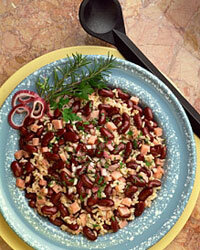 Red beans and rice is a classic dish that's as delicious as it is easy to prepare.