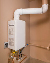 While it may be more expensive, a tankless water heater is the most efficient water-heating option available.