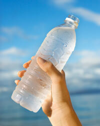 While water is not technically a biofuel, the hydrogen in water is an excellent fuel source.