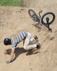Wearing a helmet is vital for all bicyclists.