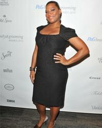 All hail the Queen! Latifah isn't afraid to show off her generous curves, and she looks gorgeous doing it.