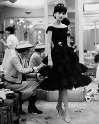 "In 1927, French fashion designer Coco Chanel debuted a simple, elegant crepe de Chine black sheath that has become the ""little black dress"" millions of women the world over count as a wardrobe staple. Merci, Madame Chanel!"
