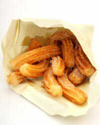 Churros are a breakfast pastry with Latin flair.