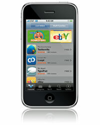 There are thousands of applications for Apple's iPhone.