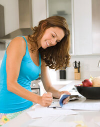 Having a savings or checking account shows lenders that you're responsible and that you have a steady income.