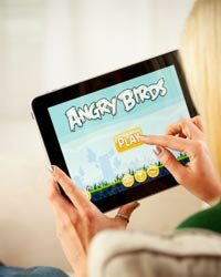 "Careful! Tapping the ""Play"" button for ""Angry Birds"" is basically like saying, ""Yes, I'd like to experience missing time."""