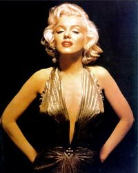 Marilyn Monroe often bared her arms -- and shoulders and cleavage -- but if you've got it, flaunt it. And she certainly had it!