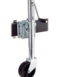 Trailer jacks can simplify the hitching process.