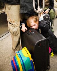 A weary traveler