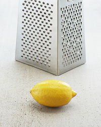Lemon zest can perk up a sugar cookie recipe or a mixed drink.