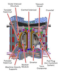 Fusion takes a lot of energy -- a real reactor would be enormous compared to Mr. Fusion.