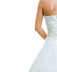 Even if someone wears white to your wedding, you'll still stand out with your radiant, bridal glow.