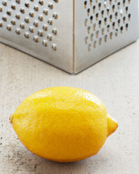 Lemon or orange zest baked into your holiday goodies will make the flavors pop.