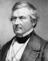 After succeeding Zachary Taylor following that president's death in office, former Vice President Millard Fillmore attempted to reach the executive office again in 1856 under the American Party banner.