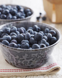 Blueberries are rich in antioxidants, which fight cancer-causing free radicals. See more pictures of fruit.