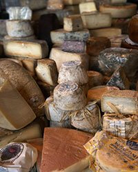 Artisanal cheeses might seem incompatible with snack time, but kids at Hurlford eat it up.