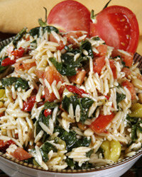 Risotto and tomato are a match made in culinary heaven.