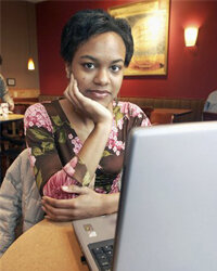 Melissa Bush, a business major at the University of Dayton, thinks that it's an invasion of privacy when employers use social online sites such as Facebook, MySpace, and YouTube in their hiring decisions.