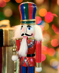The nutcracker serves a dual purpose: useful holiday tool and fun decoration!