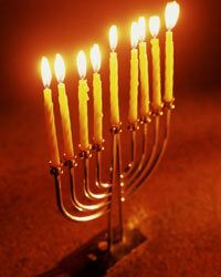 Menorahs are lit on eight consecutive nights to celebrate the miracle that is a key part of Jewish culture.