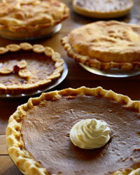 If you really want to diversify the dessert options at your reception, serve pie instead of cake.