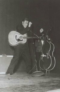 Elvis Presley's music wasn't received well at the Grand Ole Opry in 1954.