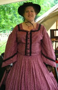 Costumed interpreters bring the past to life at Conner Prairie.