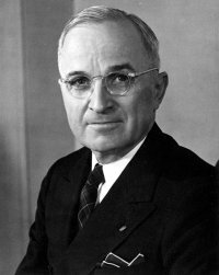 Harry Truman signed the Presidential Succession Act of 1947.