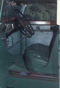 The coupe-roadster had a nicer interior than other Eight models.