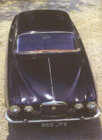The Jaguar Mark X was easily the most modern big Jaguar sedan yet.
