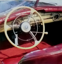 The Victoria had an attractive dashboard.