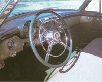 The steel dashboard was one sign of the integrity of the early '50s Buick Roadmasters.