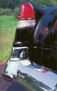 The tailfins on the 62 convertible was a design hallmark that lasted nearly 40 years.